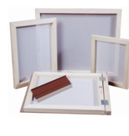 "Screen Printing Frame, 12"" x 16"", 110 Screen"