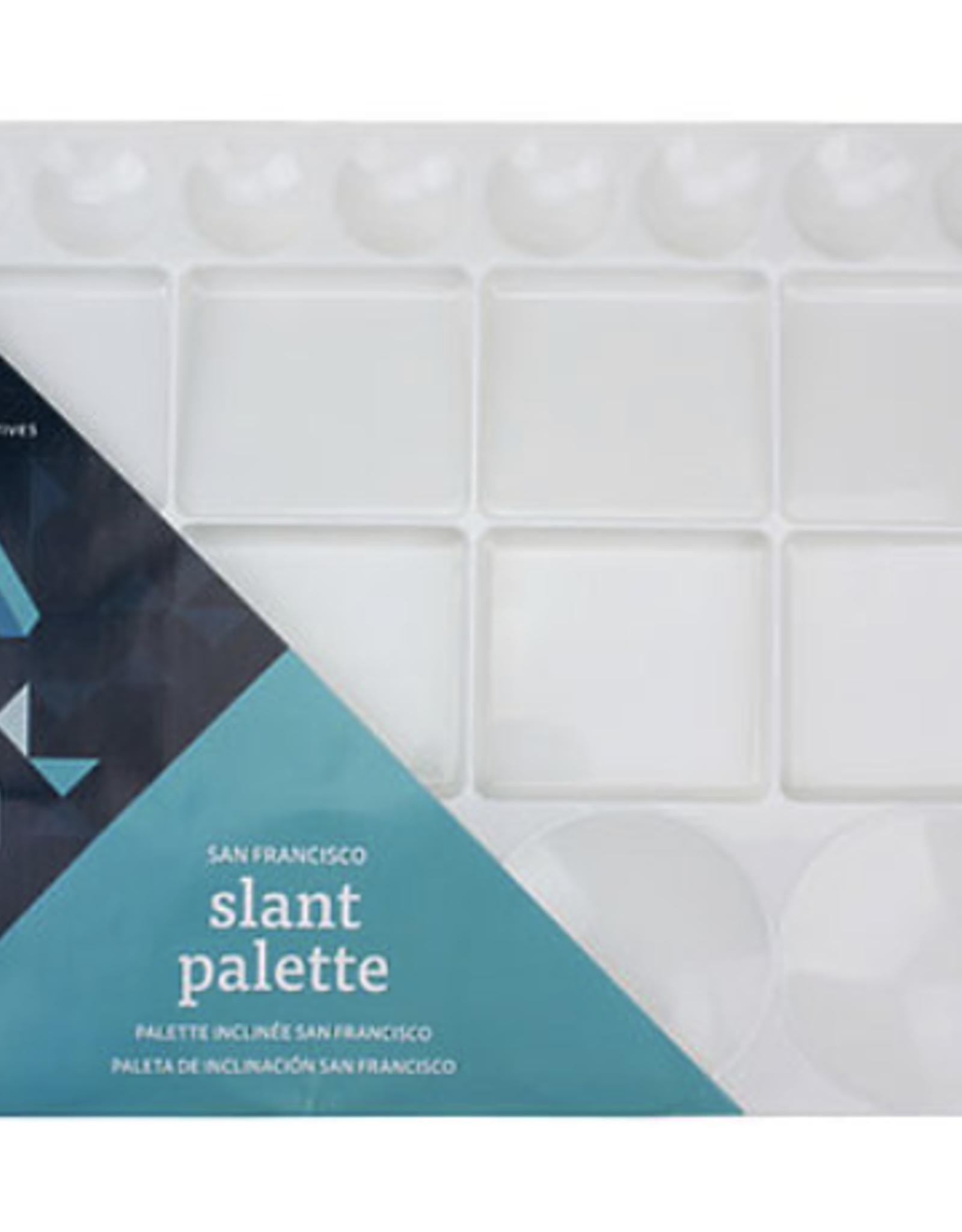 Slant Palette, San Francisco by Art Alternatives