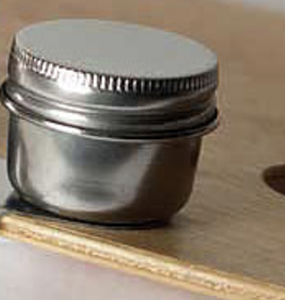 Stainless Steel Palette Single Cup w/Lid
