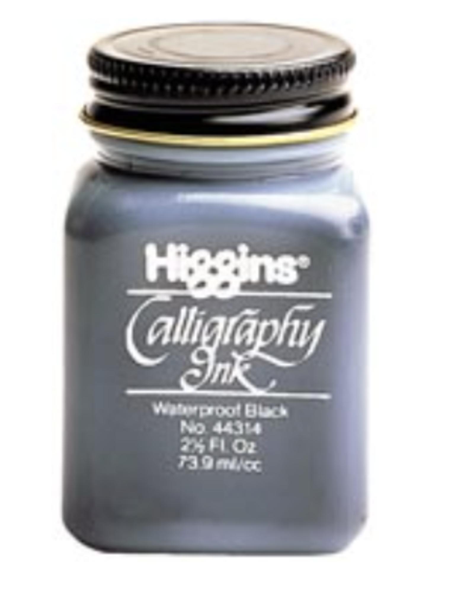 Higgins Calligraphy Waterproof Sepia Ink, 2.5oz