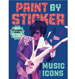 Paint By Sticker, Music Icons