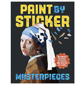 Paint By Sticker, Art Masterpieces