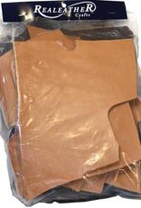 Premium Leather Scrap Bundle, 8oz
