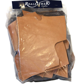 Premium Leather Scrap Bundle, 8oz