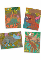 Djeco When Dinosaurs Reigned Scratch Art Cards
