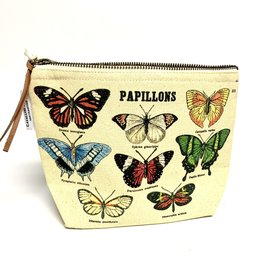 Cavallini Vintage Inspired Pouch, Butterflies