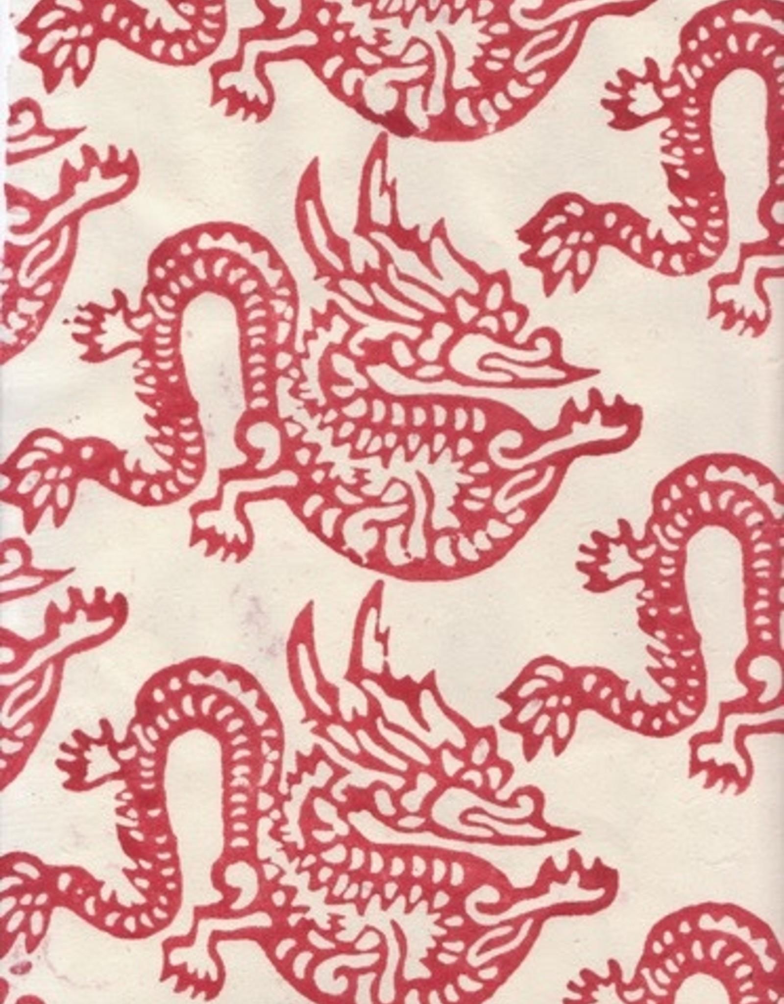 "Lokta Year of the Dragon, 20"" x 30"""