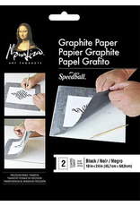 "Mona Lisa Graphite Paper, 9"" x 12"" 2 Sheet Pack"