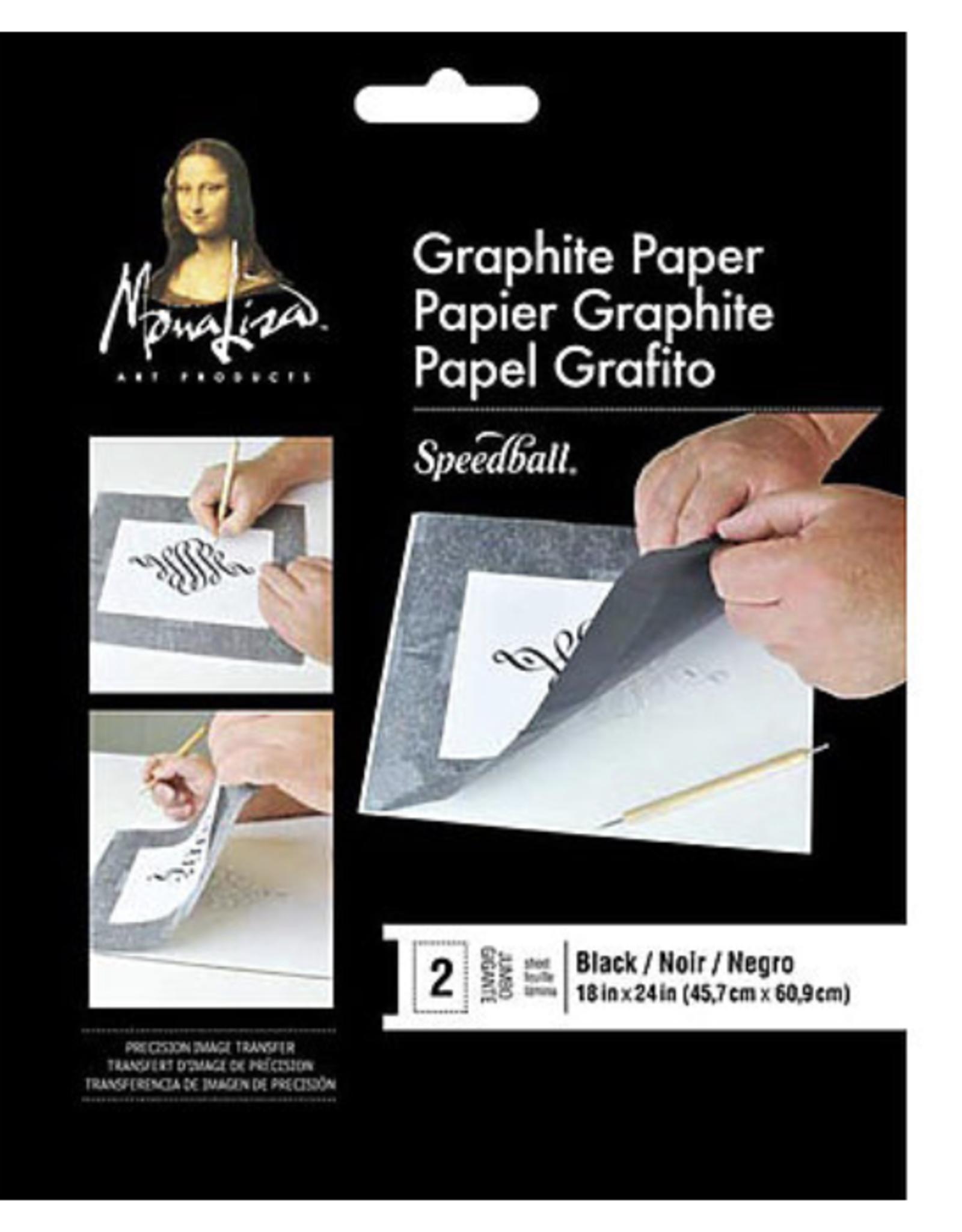 "Mona Lisa Graphite Paper, 18"" x 24"" 2 Sheet Pack"