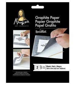 "Mona Lisa Graphite Paper, 18"" x 24"" 2 Sheet Pack"