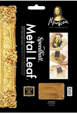 """Metal Leafing Sheets, Gold, 5-1/2"""" x 5-1/2"""" 25 Sheets"""