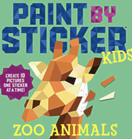Paint By Sticker, Zoo Animals