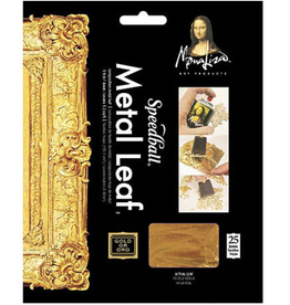 "Mona Lisa Metal Leafing Sheets, Copper, 5-1/2"" x 5-1/2"" 25 Sheets"