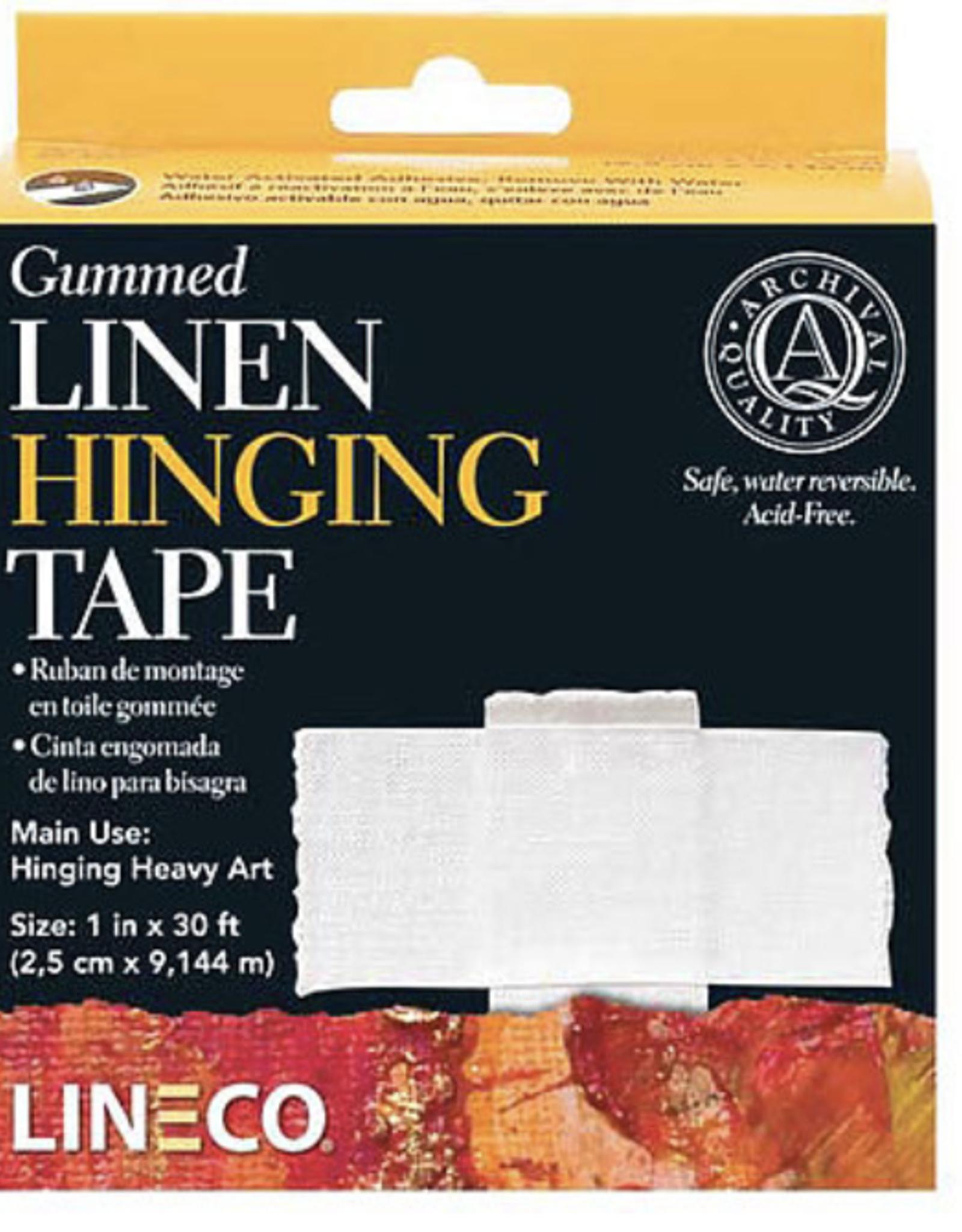 """Gummed Linen Hinging Tape, 1"""" x 30 ft"""