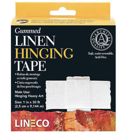 "Gummed Linen Hinging Tape, 1"" x 150 ft"