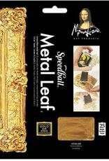 "Mona Lisa Metal Leafing Sheets, Silver, 5-1/2"" x 5-1/2"" 25 Sheets"