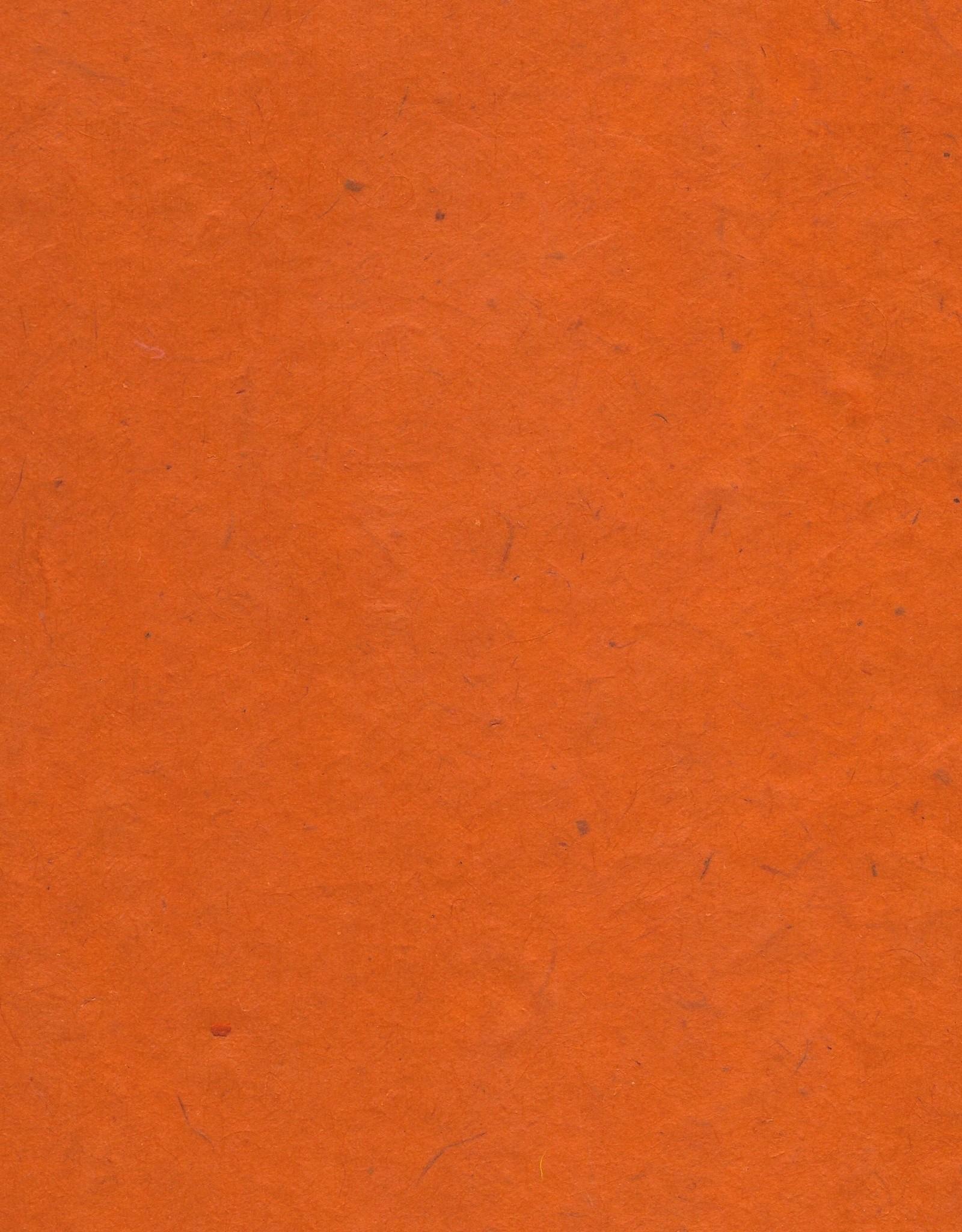 """Lokta Middle Orange, 20"""" x 30"""", 55gsm"""