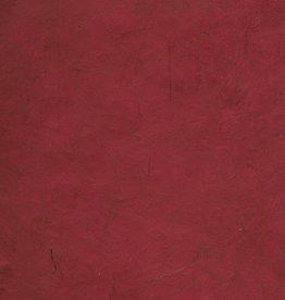 "Lokta Cranberry, 20"" x 30"", 55gsm"