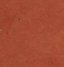 "Lokta Red Curry, 20"" x 30"", 55gsm"