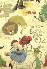 """Italian Florentine, Wizard of Oz, 18"""" x 27"""""""