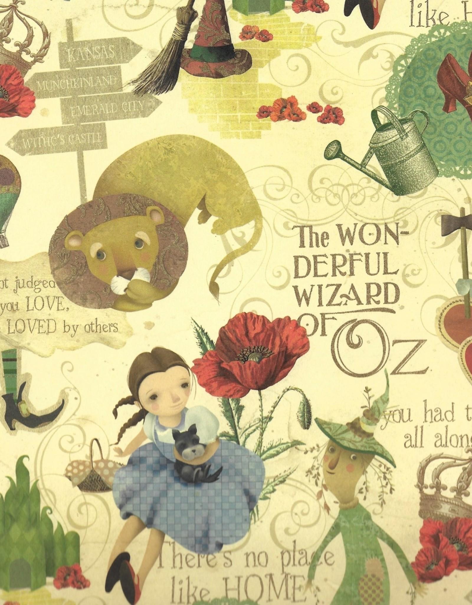 """Italian Florentine, Wizard of Oz, 27"""" x 36"""""""