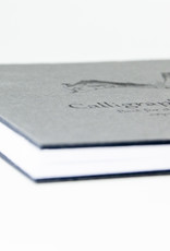 """SMLT Layflat Calligraphy Sketch Album, White, 5.5"""" x 5.5"""", 100gsm, 48 Sheets"""