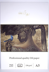 """SMLT Oil Painting Pad Pro, 11.75"""" x 16.5"""" A3, 230gsm, 10 sheets"""