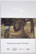 """SMLT Oil Painting Pad Pro, 8.25"""" x 11.75"""" A4, 230gsm, 10 sheets"""