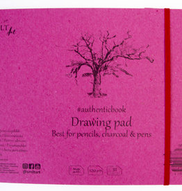 """SMLT Stitched Drawing Sketch Book White, 9.6"""" x 6.9"""", 120gsm, 32 Sheets"""
