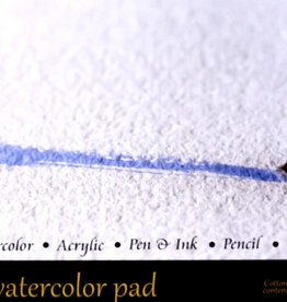 """SMLT Panoramic Watercolor Pad, 100% Cotton Cold Press, 140#, 300gsm, 7.5"""" x 15"""", 10 Sheets"""
