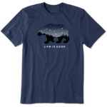 LIFE IS GOOD Bear Constellation T-Shirt