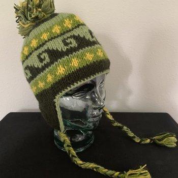 Wapiti Woolies Wapiti Woolies Hand Knit Flap Hat