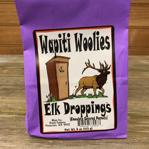 Elk Droppings (Chocolate Covered Peanuts)