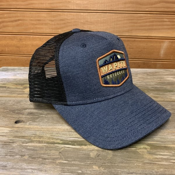 Wapiti Outdoors Wapiti Outdoors Trucker Hat (Navy)