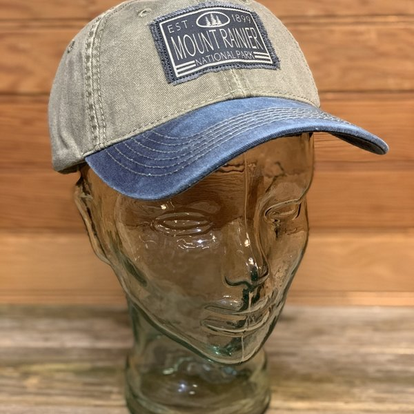 First Glance Twill Hat (Green/Blue)
