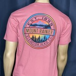 Crystal Mountain Clothing and Collectables Crystal Mountain Dyed Ringspun T