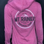 Mount Rainier Clothing and Collectables Mt Rainier Wave Zip-Up Hoodie