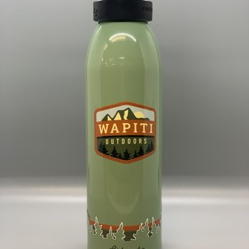 Wapiti Outdoors Wapiti Outdoors 24 Oz Bottle - Green