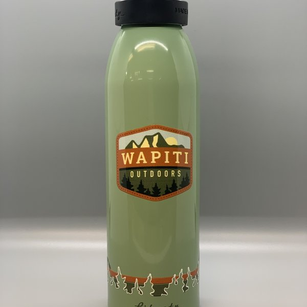 Wapiti Outdoors Wapiti Outdoors 24 Oz Bottle - Green
