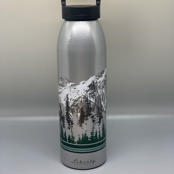 Mount Rainier Clothing and Collectables Mt. Rainier 24 Oz Bottle - Graphite