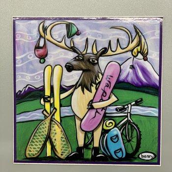 It's a Henry Wapiti Outdoors Henry Sticker