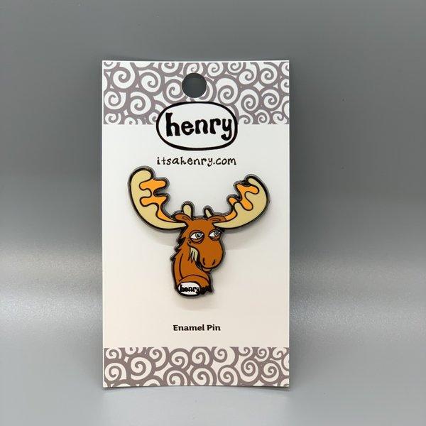 It's a Henry Moose Enamel Pin
