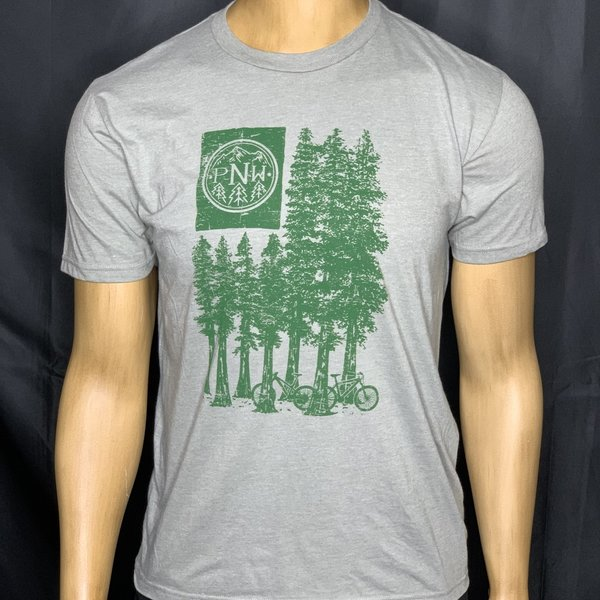 PNW Tree Flag T-Shirt