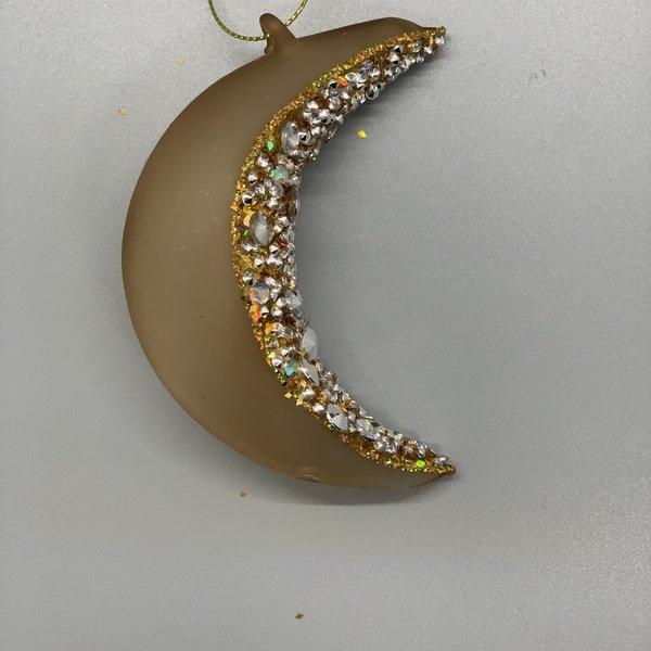 Moon Glass Ornament