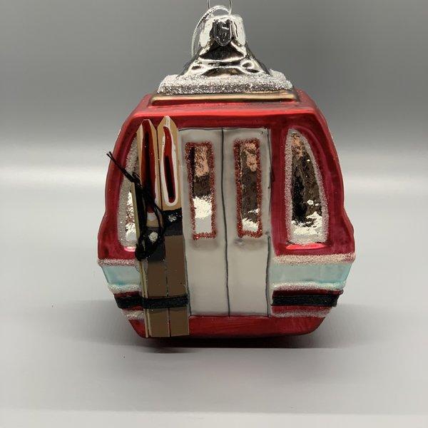 Gondola Glass Ornament