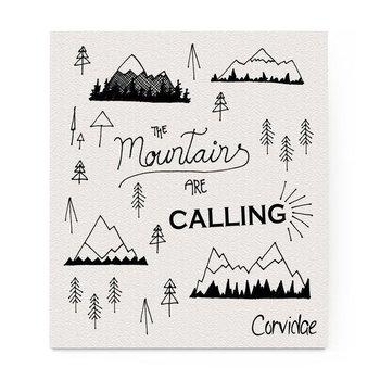 Mountains are Calling Compostable Swedish Dishcloth