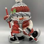 Snowman on Skis Figurine