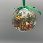 Ball Ornament - Santa with Animals