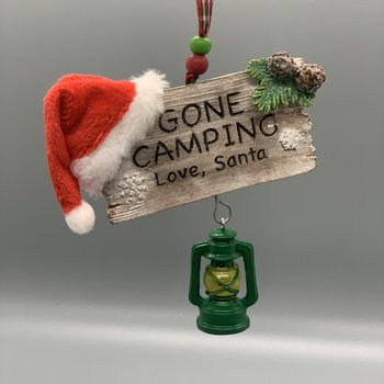 Gone Camping Ornament
