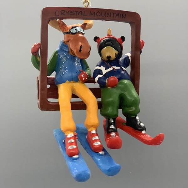 Chairlift Buddies Ornament